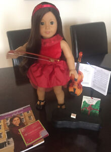 American Girl Doll,Violin and Accessories