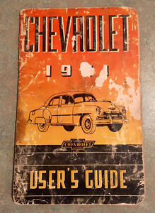 1951 Chevrolet Users Guide