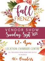 ISO vendors for fall craft and vendor show in Peterborough