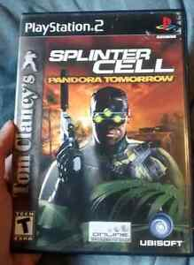 Jeux PS2 Splinter Cell!!