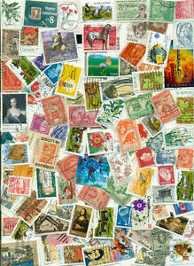 600 World Stamps
