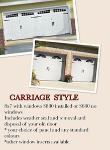 New Garage Doors starting at $650 Installed Call 416-613-8002 Oakville / Halton Region Toronto (GTA) image 2