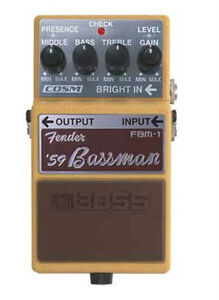 wanted- boss fender 59 bassman or 65 deluxe reverb pedal
