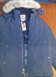 Brand New Down Waterproof Jacket... Men's Med.