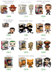 Pop vinyl collection for sale.