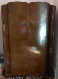 Vintage CWS Ltd teak wardrobe