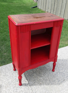 Antique Radio Cabinet Shelf *Delivery Available*