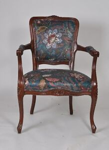 Very pretty upholstered side chair