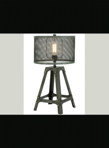 Set of industrial style lamps for sale