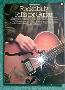 LAST CHANCE CHRISTMAS PRICE - Rockabilly Guitar Riffs Book