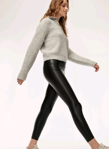Wilfred free daria leggings leather pants aritzia