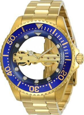 Invicta 24695 Men's Pro Diver 47mm Mechanical Blue Dial Watch