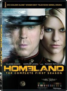 Homeland, Season 1, 2, 3 and 4 English / French DVD