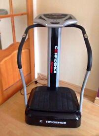 Vibrating plate weight loss machine
