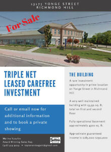 RARE INVESTMENT OPPORTUNITY - Well Kept Commercial Building!