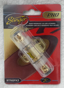 Stinger® --- Inline Fuse Holder, 4 / 8 Guage --- NEW IN BOX!!