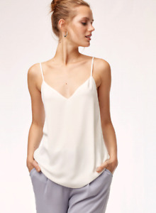Aritzia Babaton Everly Tank in White size small