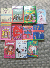 Books Jacqueline Wilson , Roald Dahl