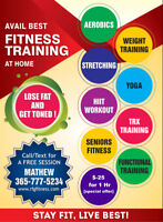 QUALIFIED &EXPERIENCED PERSONAL TRAINER