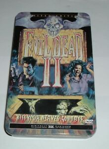Evil Dead II BOOK OF THE DEAD+  TIN Special Edition