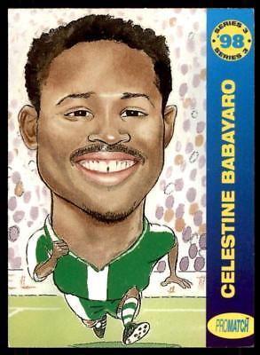 Promatch 1998 Series 3   Nigeria C Babayaro No Wc56
