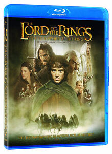 Lord Of The Rings Blu-Ray and dvd combo-Like new