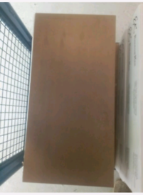 30.4 X 61cm Oxidatio Tellurium porcelain tile 4m2 Job Lot £40