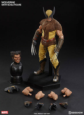 """Sideshow Marvel Collectibles X-Men Wolverine 1/6 Scale 12"""" Figure MISB In Stock"""