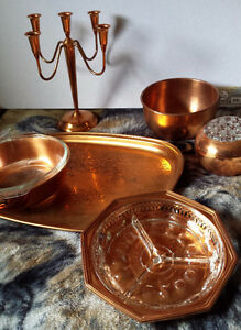 VINTAGE COPPER VARIOUS PRICES   $5 to 25