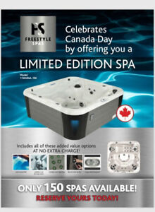 Limited Edition Brand New Freestyle Spa. More Models Available