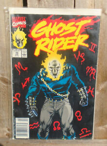 GHOST RIDER COMIC BOOK SERIES 2 #10 MARVEL COMICS CIRCA 1990