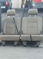 2 leather Reclining  Seats - For a Kia Van