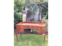 Shabby to Chic - quality vintage keyhole dressing table.