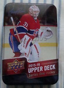 15-16 Upper Deck Hockey - Base Set Plus Carey Price Tin