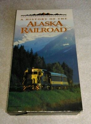 A History Of The Alaska Railroad VHS 1995 The Frontier Series KAKM Video Tested
