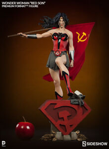 Sideshow Collectibles DC Red Son Wonder Woman Premium Format