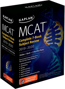 Kaplan MCAT Complete 7-Book Subject Review 2019-2020