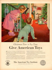 1950 ad for American Toy Manufacturers w 5-page catalogue list