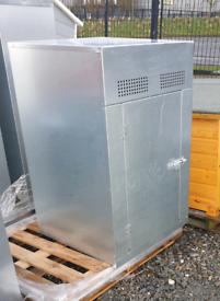 Galvanised boiler storage box gas bottle shed