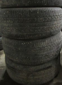 4 Tires sized 255.55.18 at 70% Tread left on them