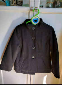 Girls Old Navy size 6/7 peacoat