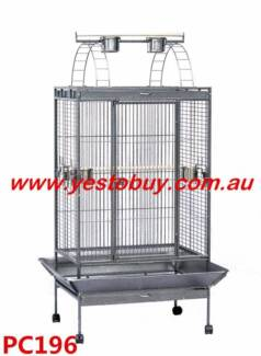 180cm Giant Arched Roof Pet Bird Parrot Canary Cage Castor Ferret