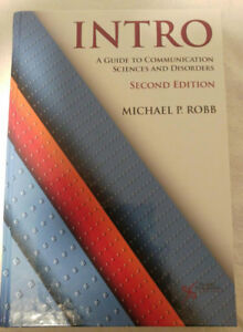 Intro to Communication Sciences and Disorders