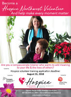 Palliative Care and Bereavement Support Volunteers Needed!