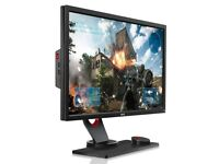 "BenQ XL2430 24"" Full HD e-Sports Monitor 144hz, 1ms response"