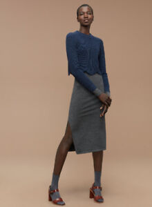 Aritzia Wilfred Sardou Sweater in Blue - Size XXS