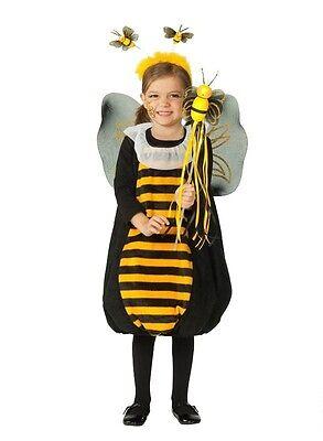 Biene Bienenkostüm mit Bienchen-Set Kinder Größe 92 Kleinkinder Fasching NEU