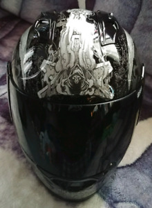ICON DISCONTINUED HELMET TINTED SHIELD IN NEW CONDITION