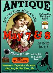 Red Deer Mother's Day  Antique Show & Sale
