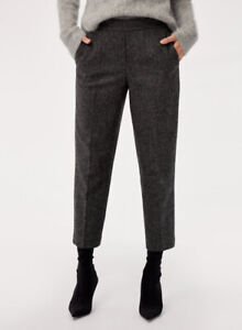 Selling New Babaton Aritzia Conan Pants in Grey Size 4
